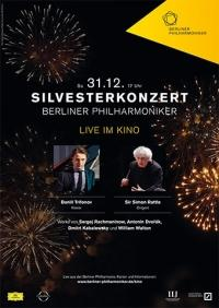 Berliner Philharmoniker 2016/17: Silvesterkonzert mit Sir Simon Rattle & Daniil Trifonov