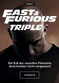 Fast & Furious 6-8
