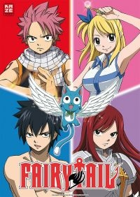 Fairy Tail: Episoden 1 - 3 der 1. Staffel