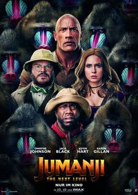 Jumanji: The Next Level 3D /OV