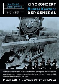 Kinokonzert: Buster Keaton - Der General