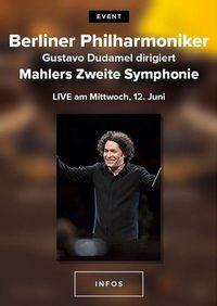 Berliner Philharmoniker 2019/20: Gustavo Dudamel dirigiert Mahlers weite Symphonie