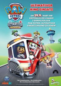 Paw Patrol - Ultimativer Kino