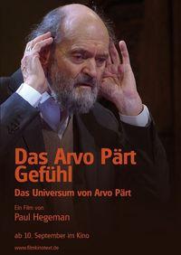 Das Arvo Pärt Gefühl /OmU