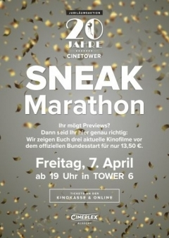 Sneak Marathon 20 Jahre Cinetower