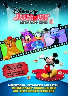 Disney Junior Mitmach-Kino 3/2018