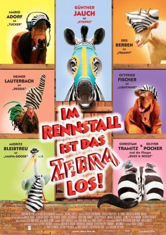 Im Rennstall ist das Zebra los!
