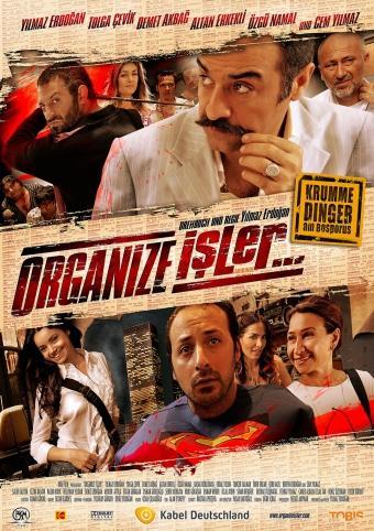 Organize Isler - Krumme Dinger am Bosporus