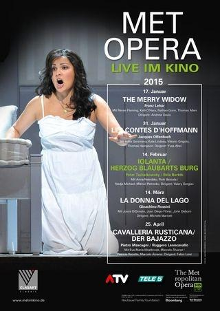 MET Opera 2014/15: Iolanta (Tschaikowsky) & Herzog Blaubarts Burg (Bartók)