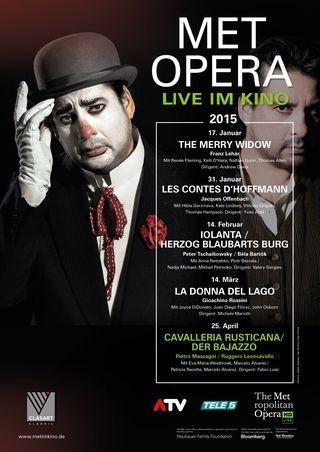 MET Opera 2014/15: Cavalleria Rusticana (Mascagni) & Bajazzo (Leoncavallo)
