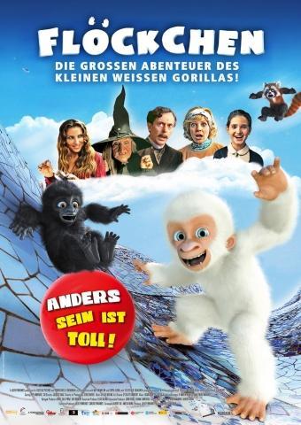 Flöckchen - Die großen Abenteuer des kleinen weißen Gorillas!