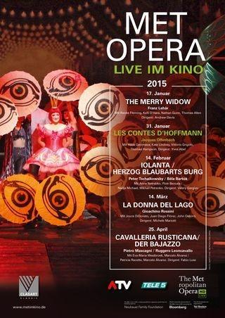 MET Opera 2014/15: Les Contes D'Hoffmann (Offenbach)