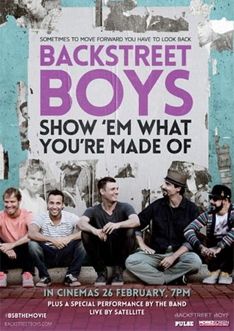 Backstreet Boys - Show 'Em What You're Made Of