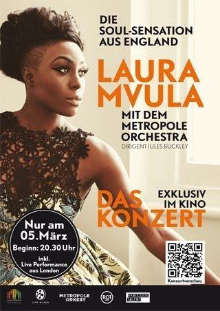 Laura Mvula mit dem Metropole Orchestra
