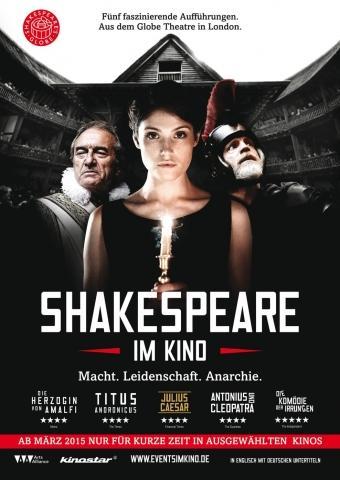 Shakespeare's Globe Theatre London: Antonius & Cleopatra