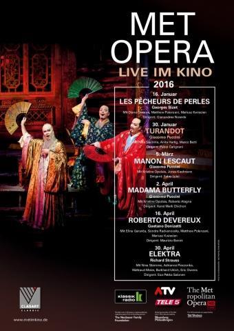 Met Opera 2015/16: Turandot (Puccini)