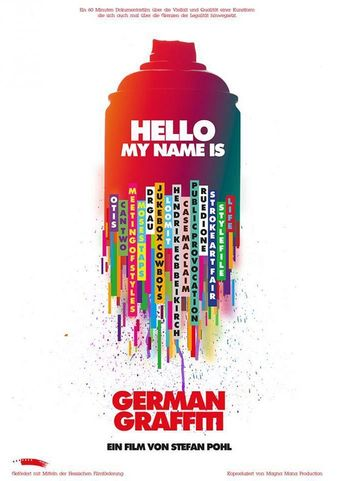 Hello my name is - German Graffiti