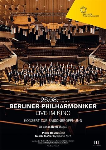 Berliner Philharmoniker 2016/17: Saisoneröffnung mit Sir Simon Rattle
