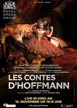 Royal Opera House 2016/17: Les Contes D´Hoffmann (Offenbach)