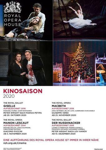 Royal Opera House 2020/21: Der Nussknacker (Aufzeichnung von 2016)