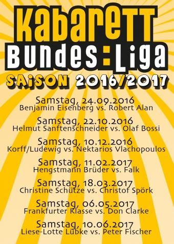 Kabarett Bundesliga 2016/2017