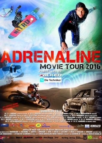 Adrenaline Movie Tour 2016