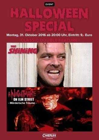 Classic Horror Double (besteht aus den Filmen Shining & Nightmare - Mörderische Träume)