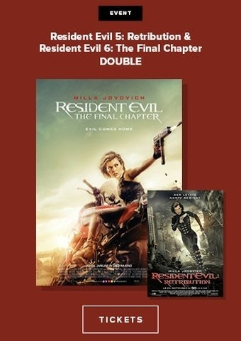 Double: Resident Evil: Retribution + The Final Chapter