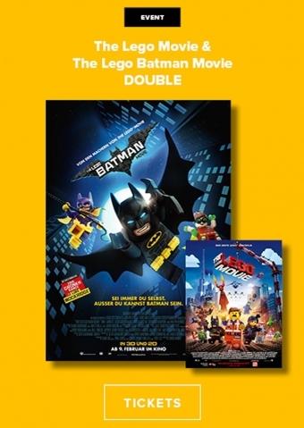 Double: The Lego Movie + The Lego Batman Movie