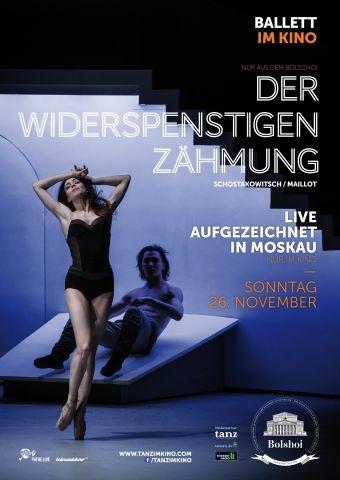 Bolshoi Ballett 2017/18: Der Widerspenstigen Zähmung