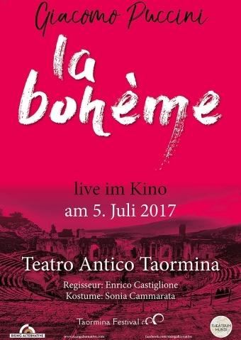 La Boheme Live Aus Dem Teatro Antico Di Taormina Cineplex Berlin