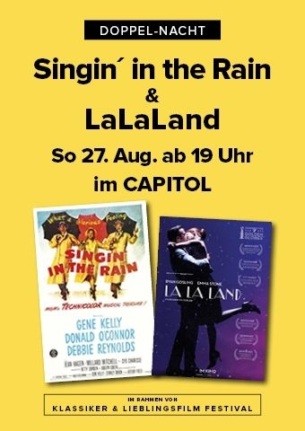 Doppel: Singin´ in the Rain und La la Land