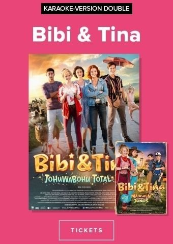 Karaoke Event: Double Feature - Bibi & Tina 3+4