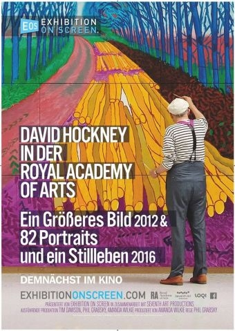 Exhibition on Screen: David Hockney in der Royal Academy of Arts
