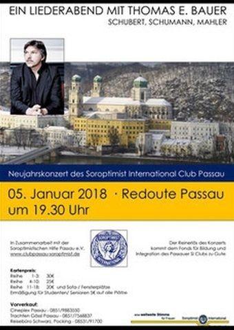 Liederabend mit Thomas Bauer / Soroptimist Club Passau