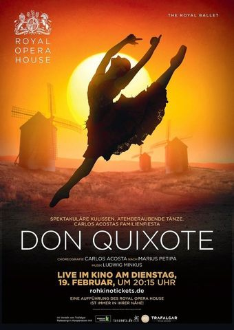 Royal Opera House 2018/19: Don Quixote