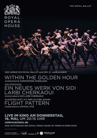 Royal Opera House 2018/19: Flight Pattern / Within the Golden Hour / New Sidi Larbi Cherkaoui
