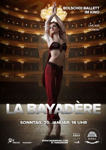 Bolshoi Ballett 2018/19: La Bayadère
