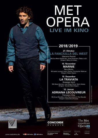 Met Opera 2018/19: La Fanciulla del West (Puccini )