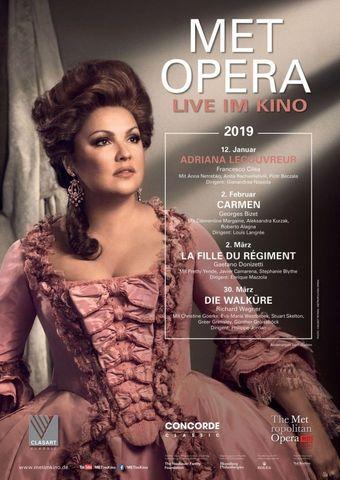 Met Opera 2018/19: Adriana Lecouvreur (Cilea)