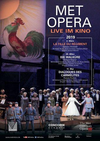 Met Opera 2018/19: La Fille Du Régiment (Donizetti)
