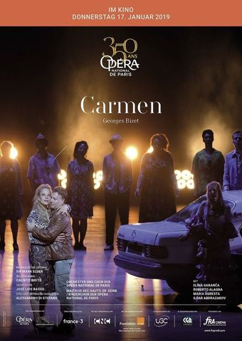 Opéra national de Paris 2018/19: Carmen (Bizet)
