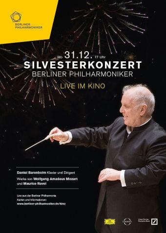 Berliner Philharmoniker Silvesterkonzert 2018/19 mit Daniel Barenboim
