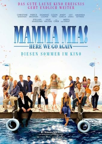 KinoVino mit Mamma Mia! Here We Go Again