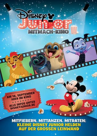 Disney Junior Mitmach-Kino 9/2018