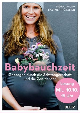 Lesung: Babybauchzeit - Geborgen durch die Schwangerschaft und die Zeit danach