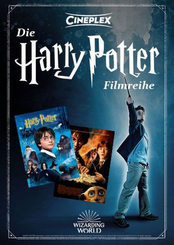 Die Harry Potter Filmreihe: Teil 1 & 2