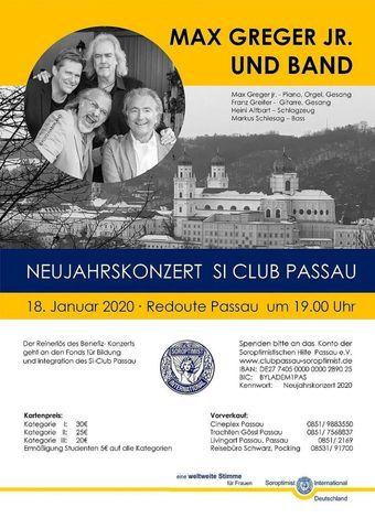 Neujahrskonzert Soroptimist Passau / Passau Jazz Orchestra