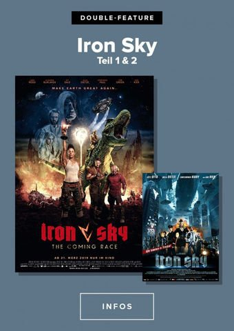 Iron Sky Director's Cut + Iron Sky The coming race