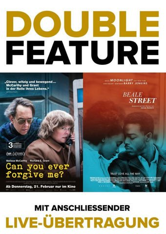 Double Feature: Can you ever forgive me + Beale Street